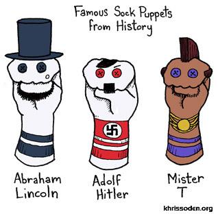sock puppet history